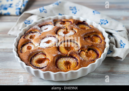 Plum cake - Stock Photo