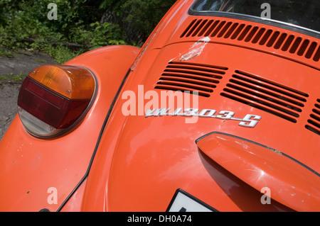 super beetle vw Volkswagen 1303 late model superbeetle - Stock Photo