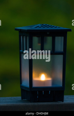 Lantern in the countryside - Stock Photo