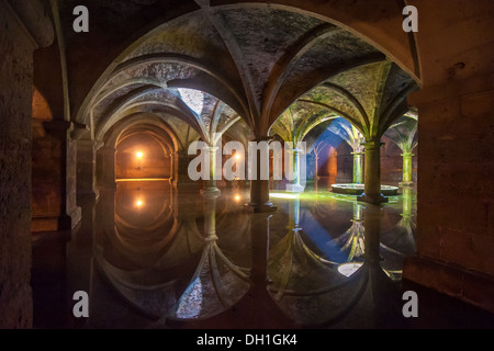 Portuguese Cistern in El Jadida, Morocco - Stock Photo