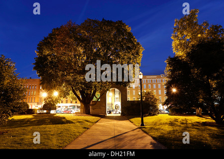 State House, Capitol in Concord, New Hampshire, USA - Stock Photo