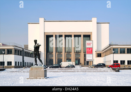 German Hygiene Museum, Dresden, Saxony, PublicGround - Stock Photo
