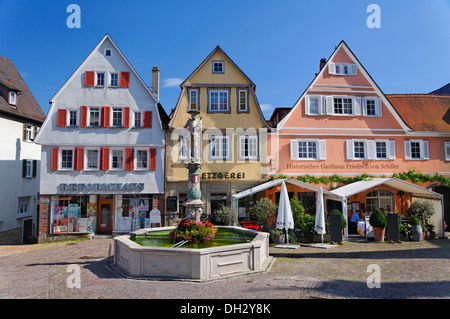 germany baden wuerttemberg bietigheim houses fountains stock photo 62145601 alamy. Black Bedroom Furniture Sets. Home Design Ideas