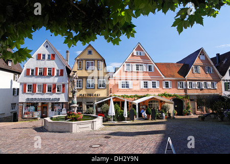germany baden wuerttemberg bietigheim houses fountains stock photo 62145633 alamy. Black Bedroom Furniture Sets. Home Design Ideas