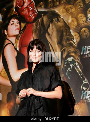 Selma Blar at the photocall of 'Hellboy II: The Golden Army' in Berlin on the 19th of August in 2008. - Stock Photo