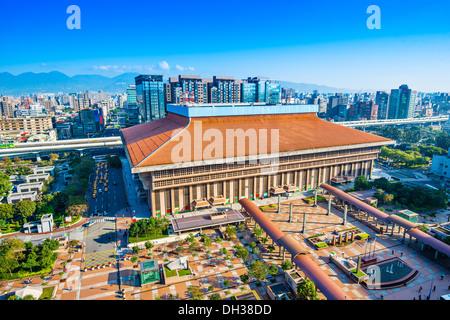 Taipei Main Station in the Zhongzheng District of Taipei, Taiwan. - Stock Photo