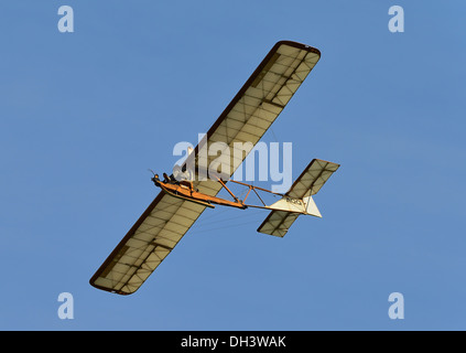 Vintage Eon Primary glider from the Shuttleworth collection,October flying day 2013,Biggleswade,UK - Stock Photo