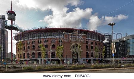 Arenas. Barcelona landmark, Spain. - Stock Photo