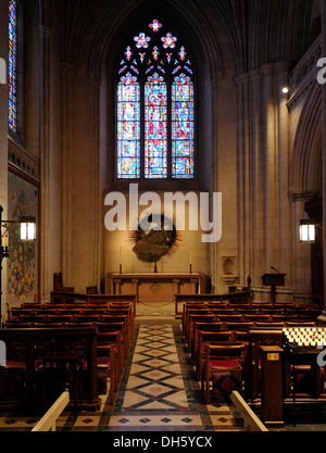 St. John's Chapel, Washington National Cathedral or Cathedral Church of Saint Peter and Saint Paul in the diocese - Stock Photo