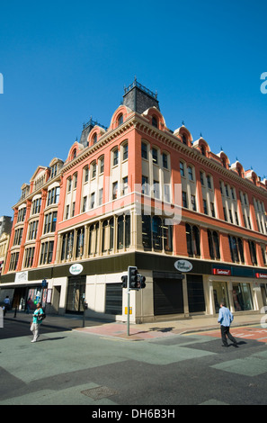 Exterior of Afflecks indoor market (formerly Affleck's Palace) in the centre of Manchester, England, UK - Stock Photo