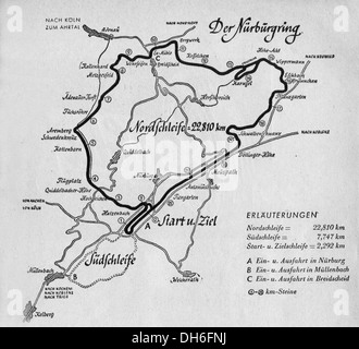 Sport Car Racing Nurburgring Germany Starting A Race S - Germany map nurburgring