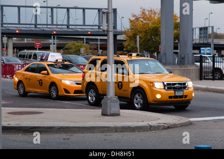 John F Kennedy JFK international airport Queens New York, United States of America. - Stock Photo