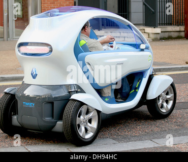 Atmosphere Renault present the 'Twizy ZE' electric concept car - Photocall London, England - 25.03.12 - Stock Photo