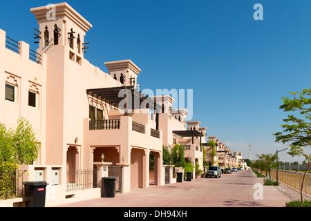 New luxury villas in Al Hamra property development  in Ras al Khaimah United Arab emirates UAE - Stock Photo