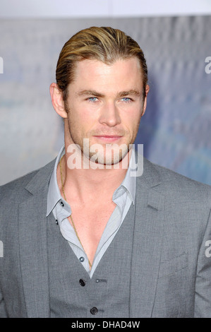 Chris Hemsworth World Premiere of 'The Avengers' at El Capitan Theatre - Arrivals Hollywood California - 11.04.12 - Stock Photo