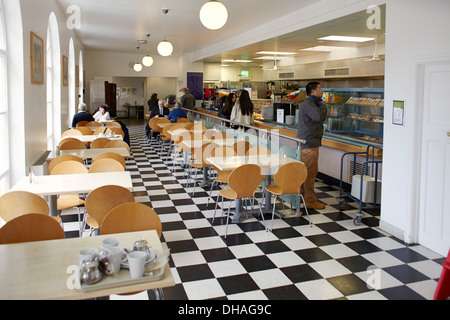 cafe in Portmeirion village, north Wales - Stock Photo