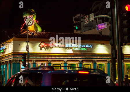 Ripley's Believe it or not Museum on Hollywood Blvd - Stock Photo
