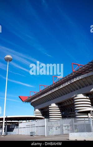 Stadio Giuseppe Meazza, Milan, Lombardy, Italy - Stock Photo
