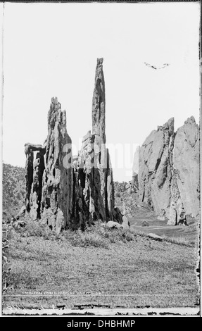 Cathedral Spires, Garden of the Gods, Colorado 517243 - Stock Photo