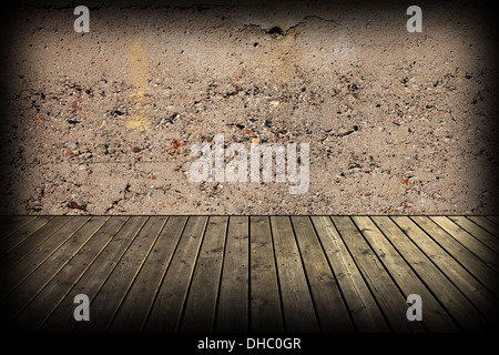 Old dark attic as a background. - Stock Photo