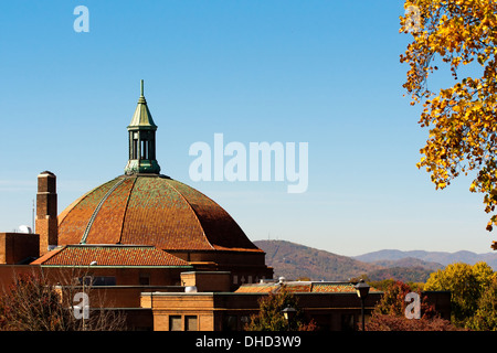 asheville north carolina - Stock Photo