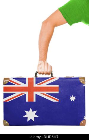 The Australian flag - Stock Photo