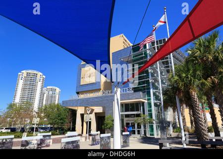 Tampa Bay History Center, Tampa, Florida, United States of America, North America - Stock Photo