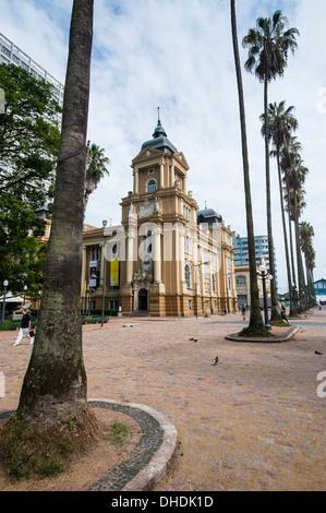 Rio Grande do Sul Museum of Art, Porto Alegre, Brazil - Stock Photo