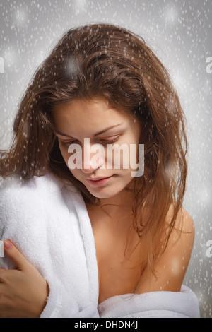 Winter depression - Stock Photo
