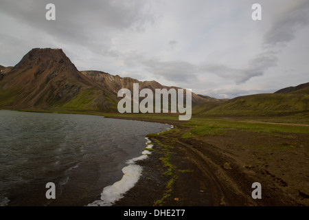 F208 from landmannalaugar - Stock Photo