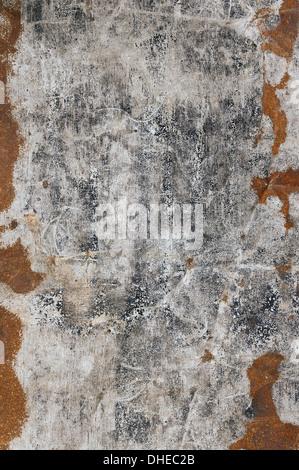 rusty old metal vertical, - Stock Photo