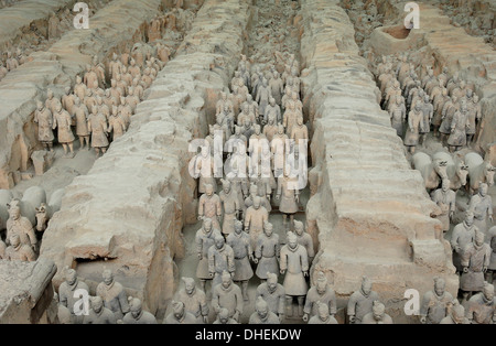 Terracotta army of the first emperor of China, Quin Shi ...