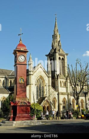 Clocktower Highbury Barn Highbury London Uk Stock Photo