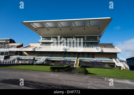 The Princess Royal stand at Aintree racecourse in Liverpool home of the Grand National - Stock Photo