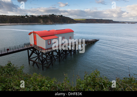 The Old Lifeboat Stattion, Tenby - Stock Photo