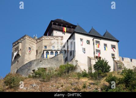 castle in Trencin - Slovakia - Stock Photo
