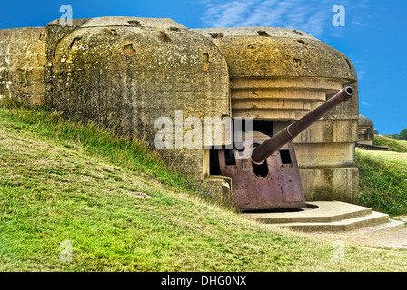 D Day Longues Sur Mer - Stock Photo