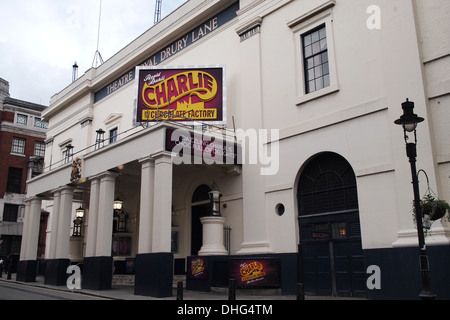 Theatre Royal Drury Lane, London UK - Stock Photo