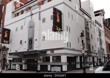 Fortune Theatre on Russell Street, London UK - Stock Photo
