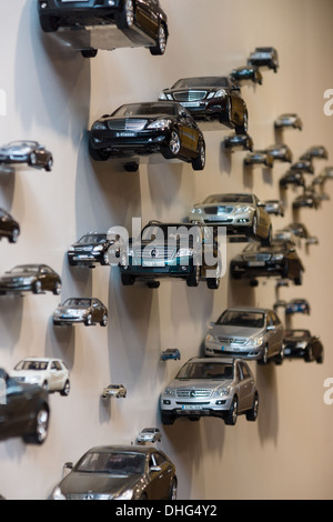 BERLIN - NOVEMBER 03: Various toy cars Mercedes Benz. Background., November 3, 2013 in Berlin, Germany. - Stock Photo