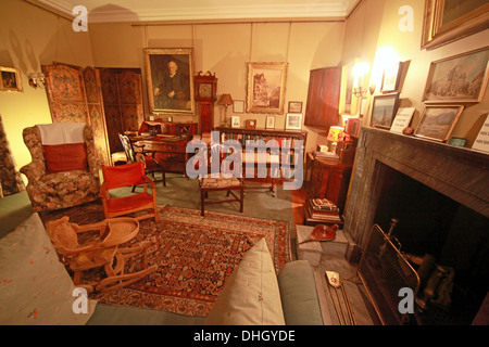 Play room, Dunham Massey, in the evening. NT near Altrincham, Cheshire, England, UK - Stock Photo