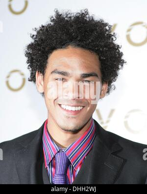 Las Vegas, NV, USA. 10th Nov, 2013. Trey Smith, DJ ACE at arrivals for DJ Ace Trey Smith 21st Birthday Party, LAVO - Stock Photo