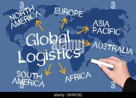 Global Logistics - Stock Photo