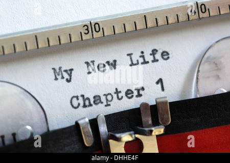 My new life - Stock Photo