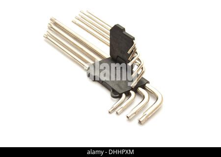 Torx Wrench Set - Stock Photo