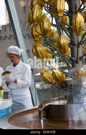 Chocolate Museum, Cologne, Germany - Stock Photo