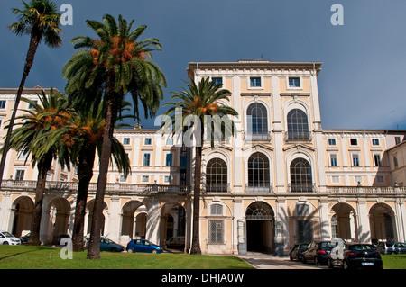 Palazzo Corsini - Galleria Nazionale d'Arte Antica, Trastevere, Rome, Italy - Stock Photo