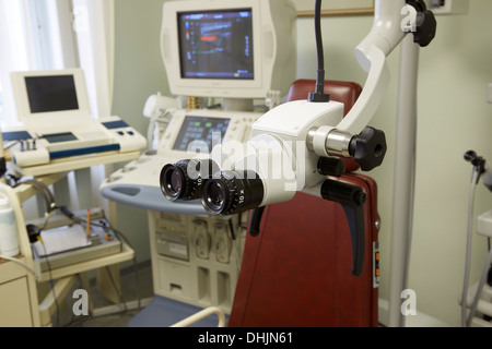 Instruments in an ENT surgery - Stock Photo