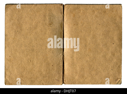 Old Empty Book Isolated - Stock Photo