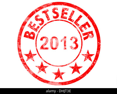 seal with bestseller 2013 - Stock Photo